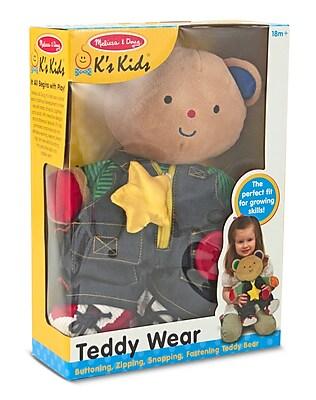 Melissa & Doug Teddy Wear Toddler Learning