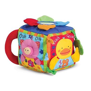 Melissa & Doug® Musical Farmyard Cube Learning Toy