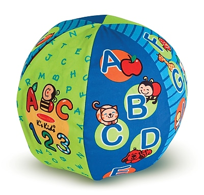 Melissa & Doug 2-in-1 Talking Ball Learning