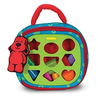 Melissa & Doug® Take-Along Shape Sorter Baby and Toddler Toy