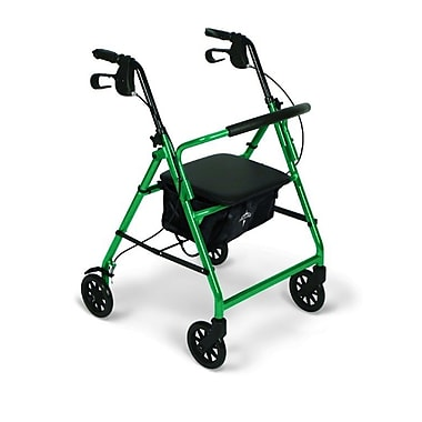 Medline® 250 lbs. Capacity Basic Comfort Rollators