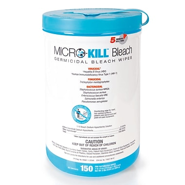 Medline® Micro-Kill™ Bleach Germicidal Wipes, 7