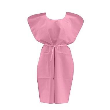 Medline® Disposable Patient Gowns, Mauve, Regular/Large