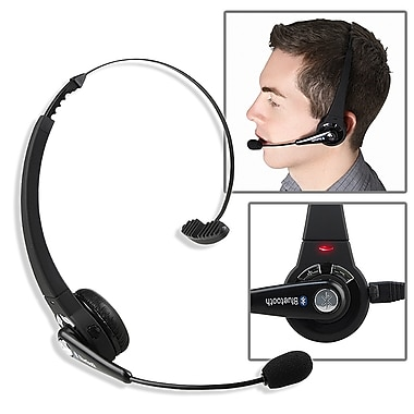 Insten® Wireless Bluetooth Headset, Black