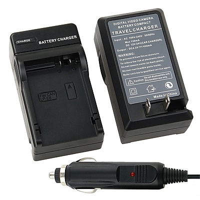 Insten® BCANLPE8CS01 Compact Battery Charger Set For Canon LP-E8
