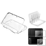 Insten® 737248 3 Piece Game Case Bundle For Nintendo 3DS XL