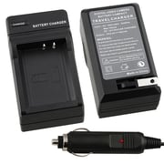 Insten® BCANLPE10CS1 Compact Battery Charger Set For Canon LP-E10 Battery, Black