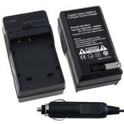 Insten® BSONBG1XCS02 Compact Battery Charger Set For Sony NP-BG1
