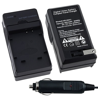 Insten® BOLYLI50BCS3 Compact Battery Charger Set For Olympus Li-50B