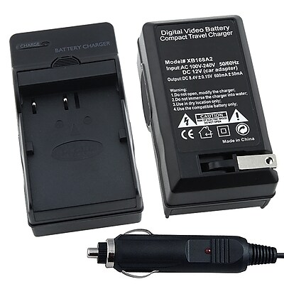 Insten® BNIKENEL3CS2 Compact Battery Charger Set For Nikon EN-EL3