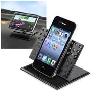 Insten® Car Dashboard 360 Deg Rotatable Swivel Phone Holder, Black