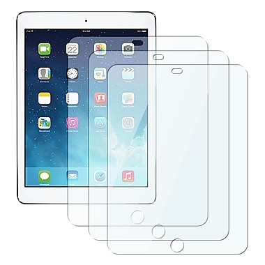 Insten® Reusable Screen Protector For Apple iPad Air, Clear, 3/Pack (PAPPIPD5SP03)