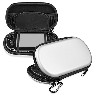 Insten® Eva Case For Sony Playstation Vita, Silver