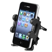 Insten Car Air Vent Phone Holder, Black (COTHCAVUPH01)