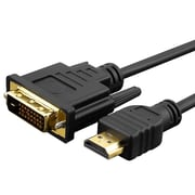 Insten® 6' HDMI to DVI Male/Male Cable, Black