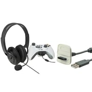 Insten® 1034918 2 Piece Game Cable Bundle For Xbox 360