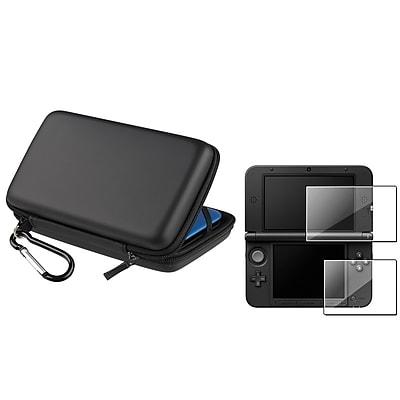Insten® 799206 2 Piece Game Case Bundle For Nintendo 3DS XL