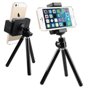 Insten® Tripod Phone Holder For iPhone 5/5S, Black