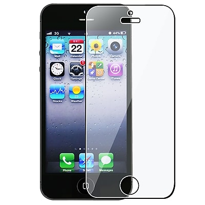 Insten® Reusable Screen Protector For Apple iPhone 5/5S/5C, Clear (CAPPIPH5SP01)