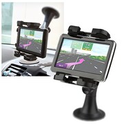 Insten® GPS Windshield Phone Holder For iPhone 5/5S, Black