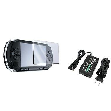Insten® 212409 2 Piece Game Film Bundle For Sony PSP Series 1000/2000/3000