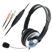 Insten® VOIP/SKYPE 6' Hands free Stereo Headset With Microphone