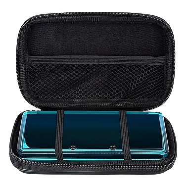 Insten® Lite Eva Case For Nintendo 3DS, Black