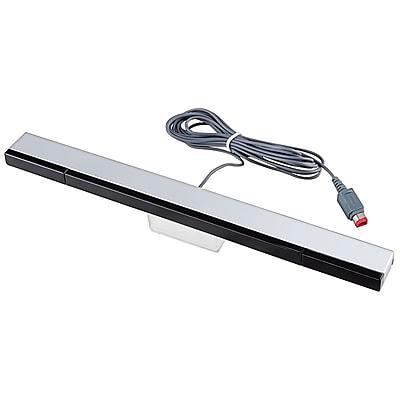 Insten® GNINWIIXSB02 Wired Sensor Bar For Nintendo Wii; Black