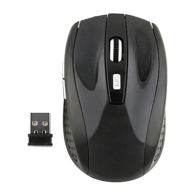 Insten® Wireless Optical Mouse, Black (POTHOPTMOUS8)