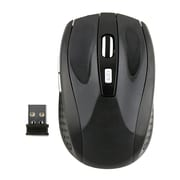 Insten® Wireless Optical Mouse, Black
