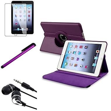 Insten 816351 Leather Case for Apple iPad Mini with Retina Display Tablet, Purple