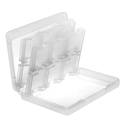 Insten® 24-In-1 Game Card Case For Nintendo 3DS/3DS XL, White