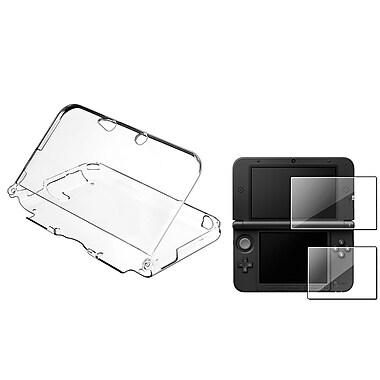 Insten® 721191 2 Piece Game Case Bundle For Nintendo 3DS XL