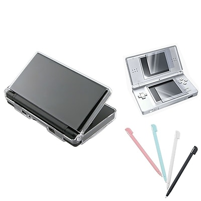 Insten® 244310 3 Piece Game Case Bundle For Nintendo DS Lite