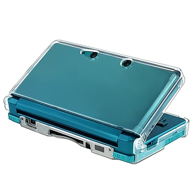 Insten® Snap-in Crystal Case For Nintendo 3DS, Clear (GNIN3DSXCOC1)