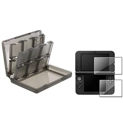 Insten® 698097 2 Piece Game Case Bundle For Nintendo 3DS