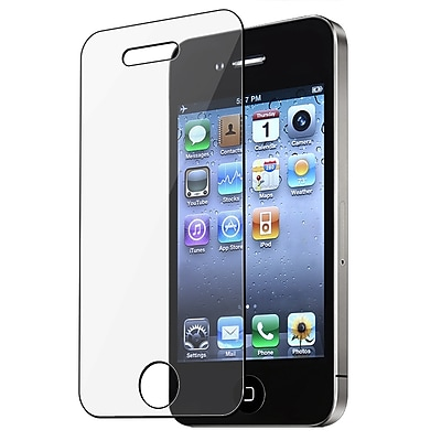 Insten® Reusable Screen Protector For Apple iPhone 4/4S, Clear (CAPPIPHOSP10)