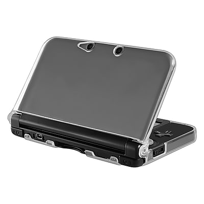 Insten® TPU Rubber Case For Nintendo 3DS XL/LL; Clear