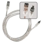 Insten 6' IEEE 1394 Firewire Cable, Translucent