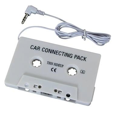 Insten® Car Audio Cassette Adapter, White