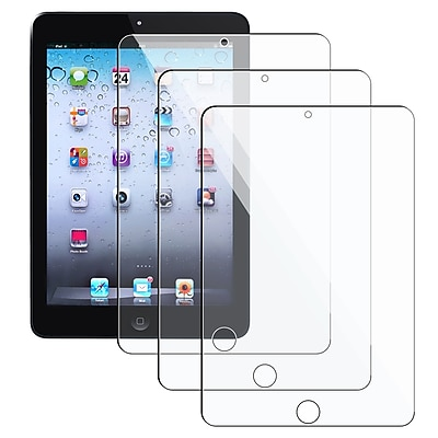 Insten® Reusable Screen Protector For Apple iPad Mini With Retina Display, Clear, 3/Pack