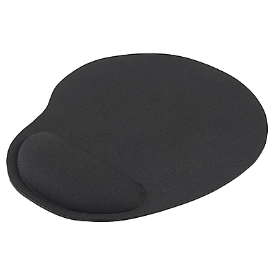Insten Wrist Comfort Mouse Pad For Optical/Trackball Mouse; Black