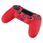 Insten® Silicone Skin Case For Sony PS4 Controller, Red