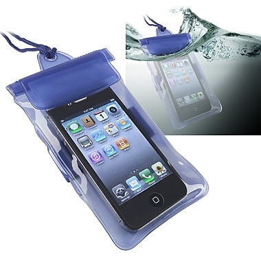 Insten® PVC Waterproof Bag Case For Cell Phone/PDA, Blue