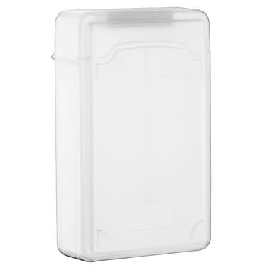 Insten® SATA Hard Drive Plastic Storage Case, Clear