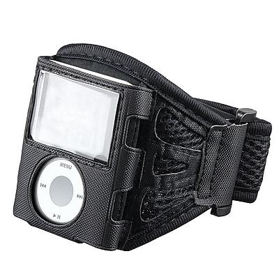 Insten® PVC Deluxe Armband For iPod nano 3 Gen, Black