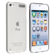 Insten TPU Rubber iPod Case for Apple iPod Touch 5th Gen, Frost Clear White