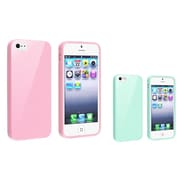Insten® 833422 2 Piece Case Bundle For Apple iPhone 5/5S