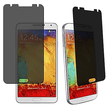 Insten® Privacy Screen Filter Protector For Samsung Galaxy Note III N9000, Clear
