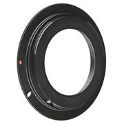 Insten® BOTHM42CNAD1 M42 Lens to Canon EOS EF Camera Adapter Ring, Black